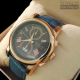 Montblanc Chronograph Blue&Gold