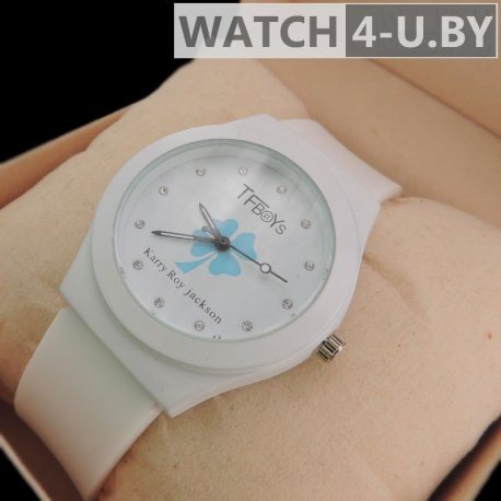 Karry Roy Jackson TFboys Watch White