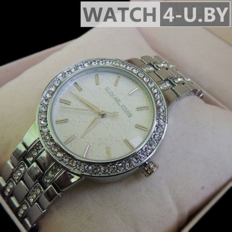 Michael Kors Diamonds Watch Silver