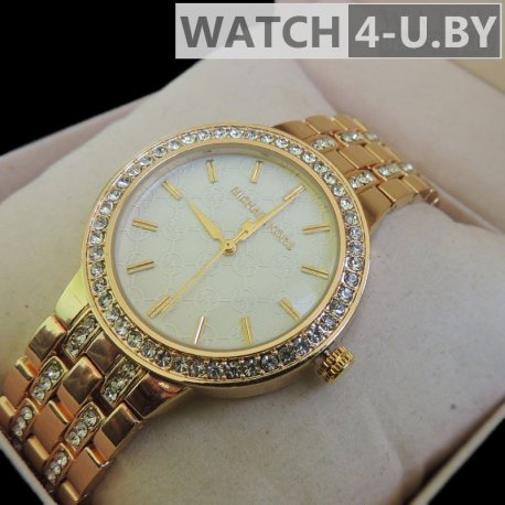 Michael Kors Brilliant Watch Gold-White