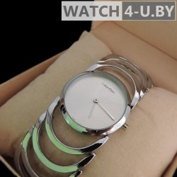 Calvin Klein Silver Women Watch