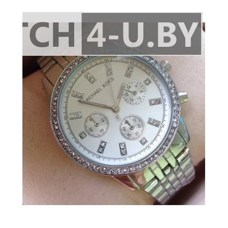 Michael Kors Silver Watch MK-637