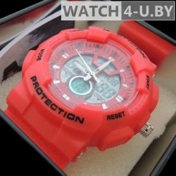 Casio G-Shock Protection Red