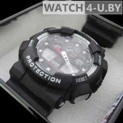 Casio G-Shock Protection Black&White