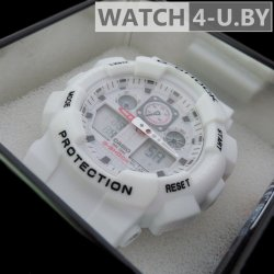 Casio G-Shock Protection White