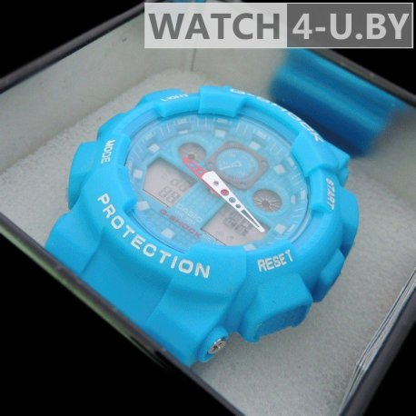 Casio G-Shock Protection Sky-Blue